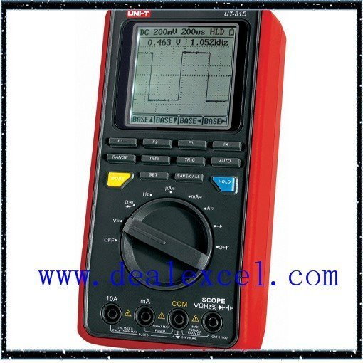 EMS FREE SHIPPING UT81B UNI-T scopemeter oscilloscope digital multimeter