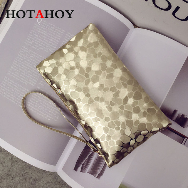 Women PU Leather Clutch Stone Pattern Lady Small wallet Zipper Cell Phone Wallet Coin Purse