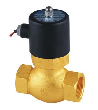 Free Shipping 5pcs In Lot 1-1/2'' Uni-D Steam Solenoid Valve PTFE US-40 2/2 Way Valves 2L300-40 Good Quality