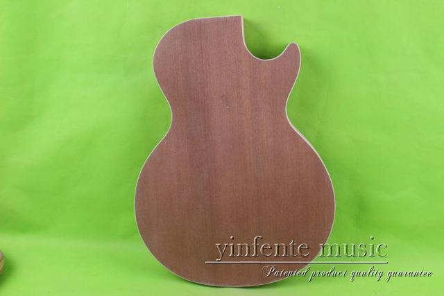 one   Unfinished electric guitar body mahogany wood made  27 #