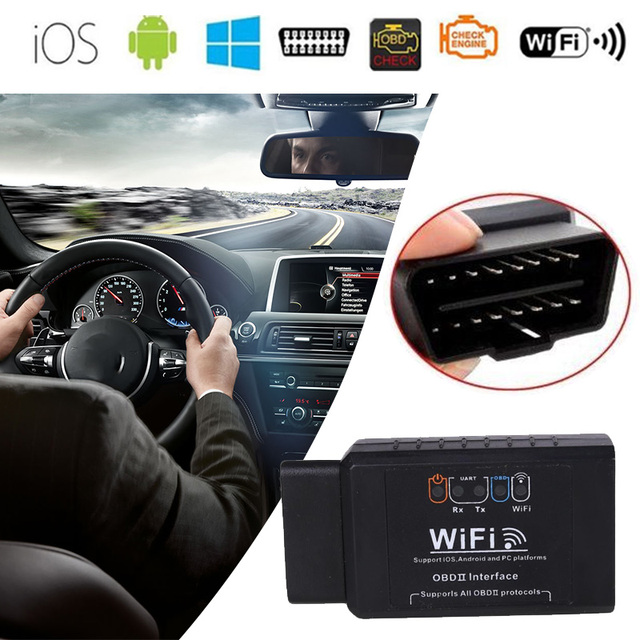 Vehemo for IOS Android ELM327 Diagnostic Tool Tester Scanner Mini Automobile WIFI
