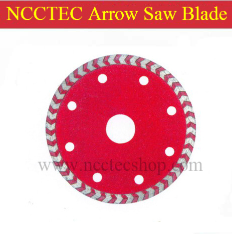 4'' NCCTEC ARROW-TOOTH Diamond saw blade NSB4AT | 105mm FAST cutting disk | FREE shipping