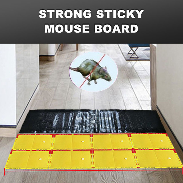 Glue Rat Board Non Toxic Rodent Durable Rat Glue Trap Mousetrap 120*27cm Safety Mouse Sticky Plate Drop Shipping
