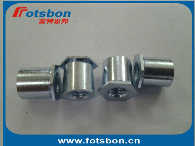 SO-M4-6 , Thru-hole Threaded Standoffs,Carbon steel,zinc,PEM standard,made in china,in stock.