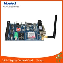 Biosled (EX-92)  GSM led display control card for weather repoter board,LED GSM Control  Board with RS232 & 50 Pin Port