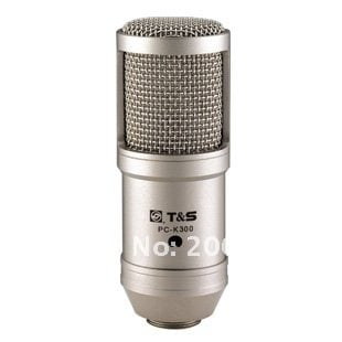 HOT High Quality Mini Version Takstar PC-K300 Recording Microphone Mic No Audio Cable Free shipping