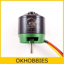 COBRA 4120-16 KV610 Outrunner Brushless Motor for RC Aircraft