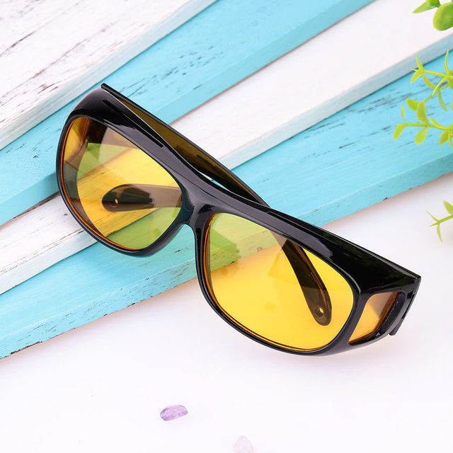 Yellow Lens Glasses HD HD Sunglasses Anti Uv for Driver for Driver for Driver Yellow Lens Men/Women Night Vision Sports