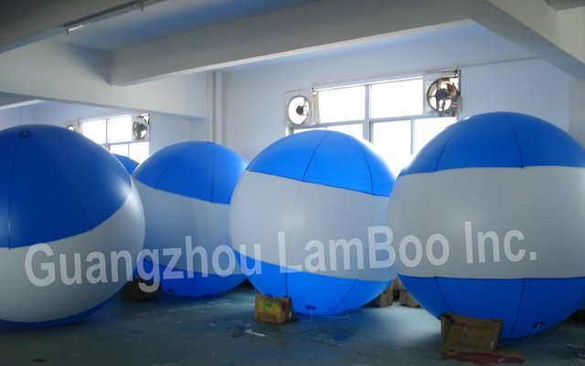 FREE SHIPPING HOT Blue Inflatable Advertising Helium Balloon with your special LOGO for Events,Exhibition,Promotion