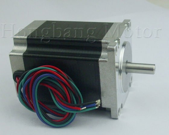 Nema23 3A stepper motor / 76mm 3A 1.8N.M / 2 phase 4-wire hybrid(Shaft Diameter 8mm)