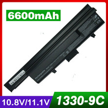 Replacement Laptop Battery For dell  Inspiron 1318 XPS M1330 312-0566 312-0567 312-0739 451-10473 451-10474 PU556 PU563 TT485