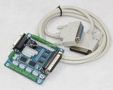 A995A 5 axis CNC Breakout Board interface adapter for PC Stepper Motor Driver