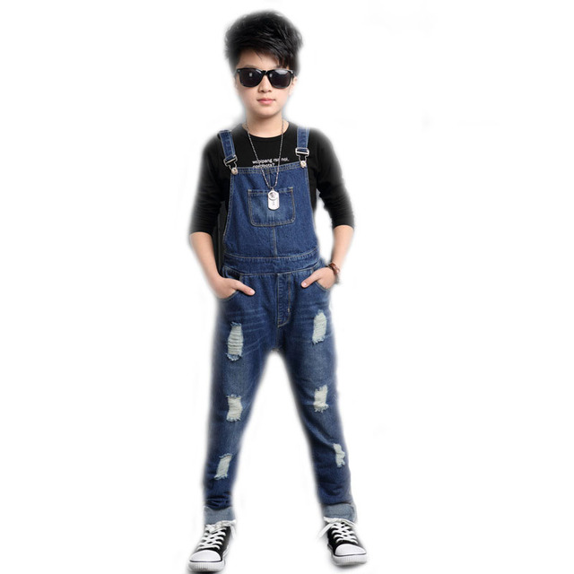 Boys Denim Trouser 2020 Denim Overalls Boys Jeans Fashion 2-10Y Baby Boys  Jumpsuit Brand Pants Kids Clothes Children's Jeans - buy inexpensively in  the online store with delivery: price comparison, specifications, photos
