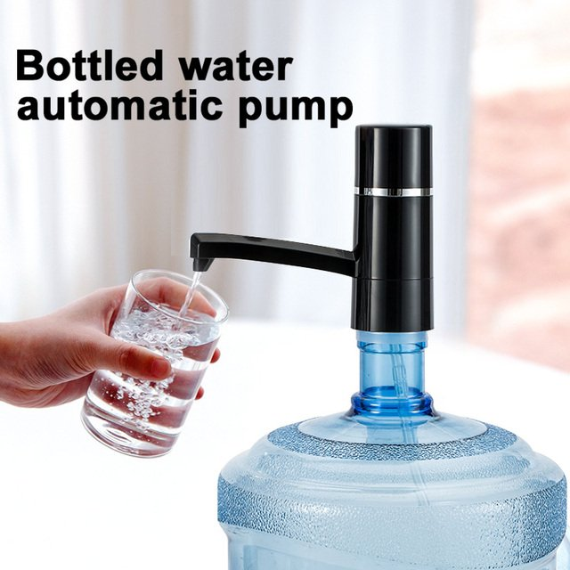 2019 New Automatic Electric Portable Water Pump Dispenser Gallon Drinking Bottle Switch USB Charging 304 Stainless Steel