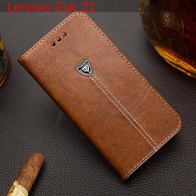 EFFLE New For Lenovo Zuk Z1 Case Luxury Flip PU Leather Stand Case For Lenovo Zuk Z1 Cover Book Style Cell Phone Cover