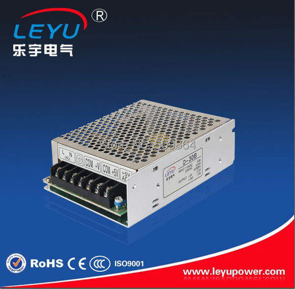 CE RoHS 30W Dual Output  Switching Power Supply     D-30