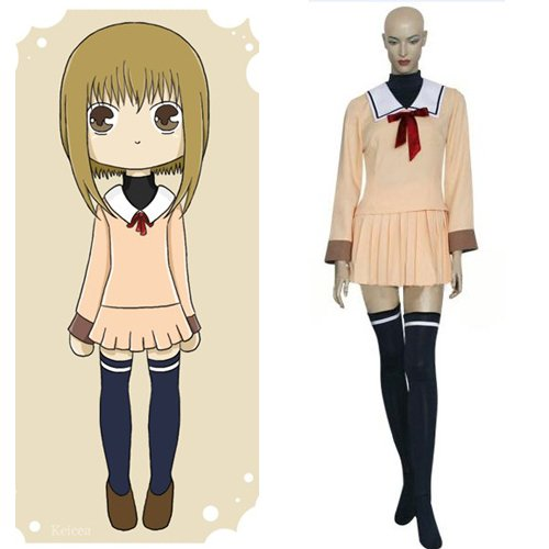 Fruits Basket Kisa Sohma Cosplay Costume For Women's Cosplay Halloween Clothes School Uniform Dress