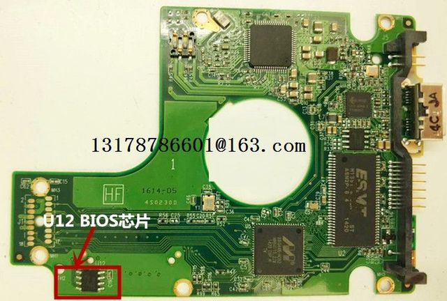Free shipping 100% Original Good test PCB logic board 2060-771961-001 REV A/B for 3.0 USB hard drive repair data recovery