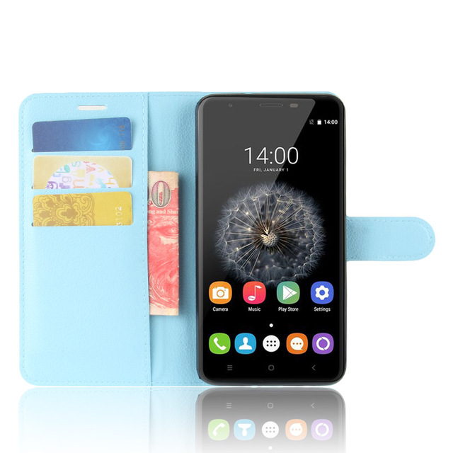 For OUKITEL U15 Pro Case, High Quality PU Flip Leather Exclusive Case For Oukitel U15 Pro Protective Phone Cover tracking