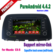 Touch screen car dvd player for Mazda CX-5 with gps navigation system & car multimedia+3G+mirror link+wifi hotspot+OBD