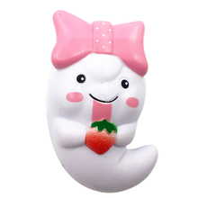 Hiinst stress reliever 12cm Cute Ghost 1pc 2017 Squishy Slow Rising Cream Scented Decompression Toys*R squishi squeeze toy Drop