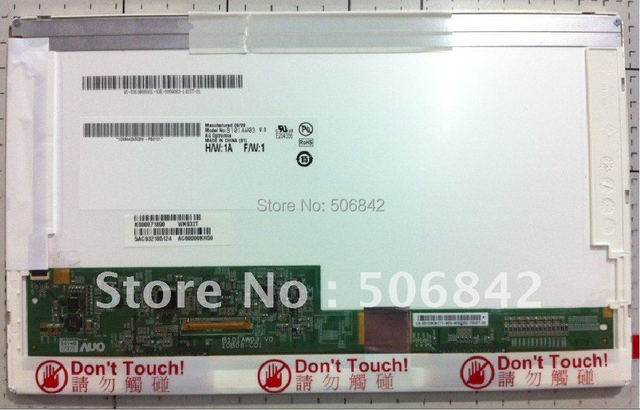 "Free Shipping,,10.1""laptop LED screen      B101AW03 V.0     Brand new A+ 1024*600"