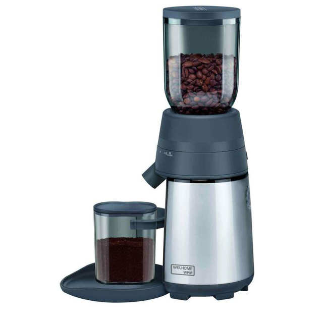 220V Electric Coffee Grinder;  Conical WELHOME ZD-12 Bean grinding machine Hand coffee Automatic mill