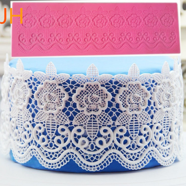 NEW flower instant silicone lace mold cake mold baking tools kitchen accessories decorations for cakes Fondant