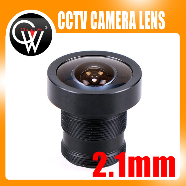 5PCS/LOT 2.1mm Lens 150 Degrees CCTV Board Lens For CCTV Security Camera Free Shipping