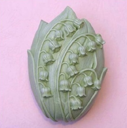 lily of the valley 50319 Craft Art Silicone Soap mold Craft Molds DIY Handmade soap molds
