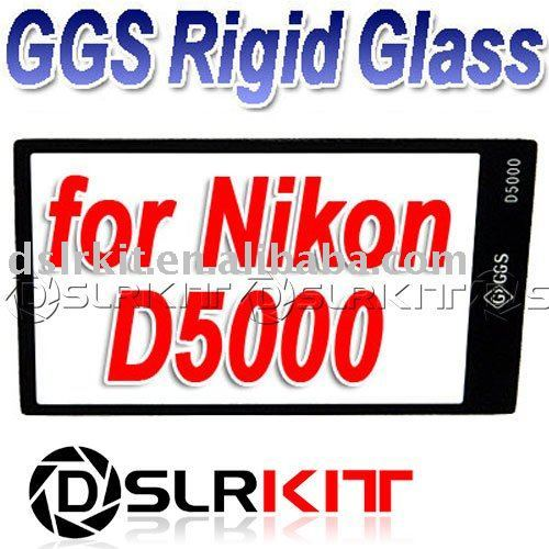GGS Rigid Glass!GGS LCD Screen Protector optical glass for NIKON D5000