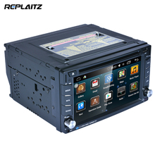 """2 DIN 6.2"""" Android 6.0 1G 16G Car DVD Player GPS Navigation WiFi Bluetooth Handsfree Steering Wheel Control RDS/AM/FM Radio"""