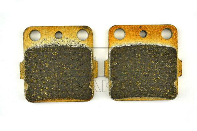 Free Shipping New Organic Brake Pads For Rear YAMAHA ATV YFZ 450 /S 2004-2005 YFZ 350 Banshee 1987-2009 High Quality