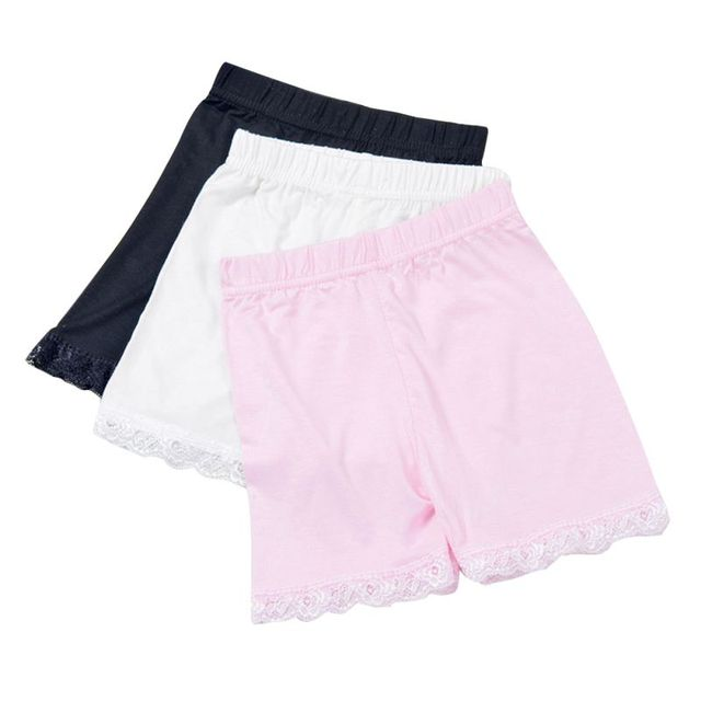 4 New Solid Color High Quality Safety Shorts Underwear Leggings Girls boxer briefs shorts for Children 3-15Y P2