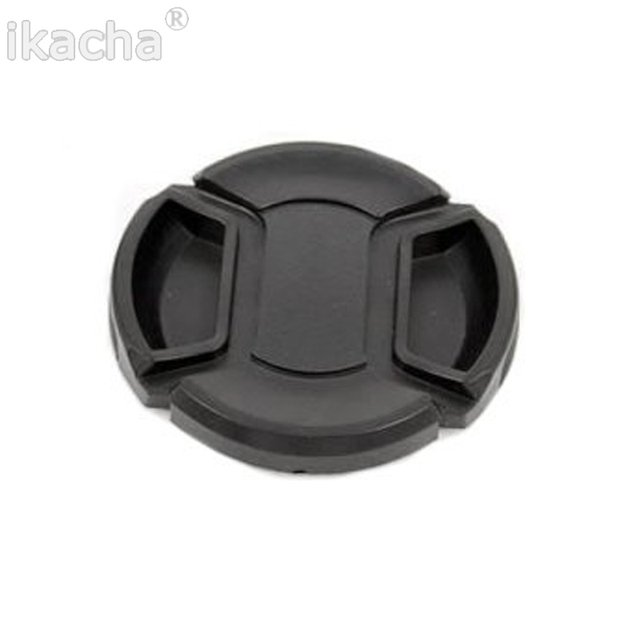 67mm SLR Camera Lens Cap Snap-On Front Lens Protection Protect Cover With Anti-lost Rope For All Camera