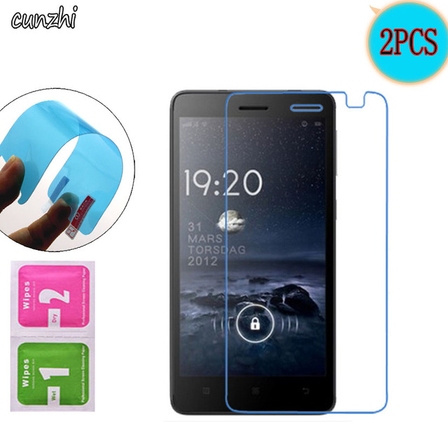 2PCS  Ultra Clear Soft TPU Nano-coated Tempered Explosion proof Screen Protector Film For Lenovo S860
