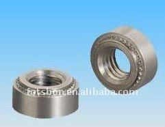 SP-M4-2press in nuts,self-clinching nuts,stainless steel 416,vacuum heat treatment,nature,in stock