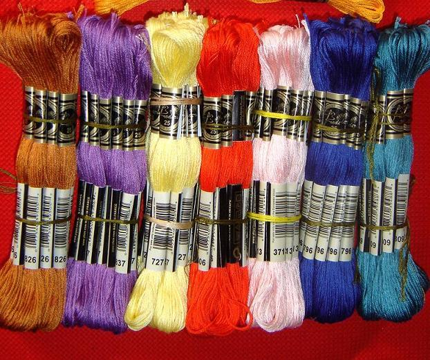 JCS Cross stitch cotton threads Available Total 447 Pieces Royal Thread A Full Set Embroidery Thread Cross Stitch Floss