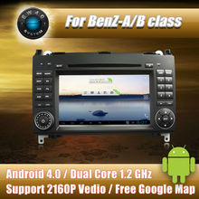 Android 4.0 car dvd player Radio GPS Navi for MERCEDES BENZ A/B Class VITO/VIANO/SPRINTER with free shipping