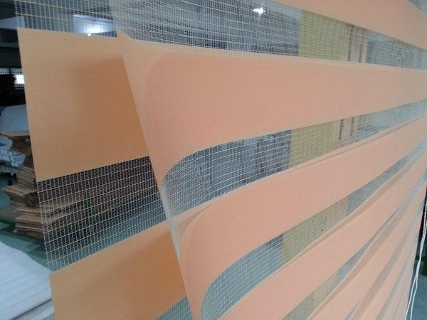 Custom Made 100%Polyester Roller Zebra Blinds in Orange Translucent  Window Curtains for Living Room 30 Colours are Available