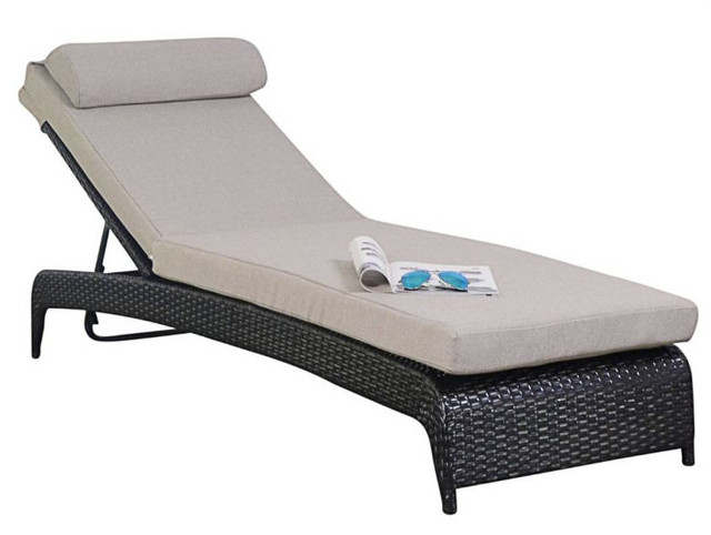 Sigma outdoor pool furniture european style chaise lounge chair