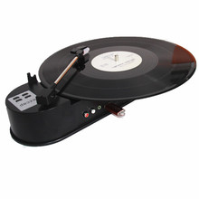 New Arrival EzCAP 33RPM Mini Turntable Vinyl Record Player Converts LP Vinyl turntable to MP3 USB Flash/Phones/Media Player