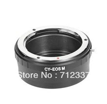 Lens adapter for Contax Yashica mount C/Y CY lens to Canon EOS M EF-M mount Mirrorless adapter
