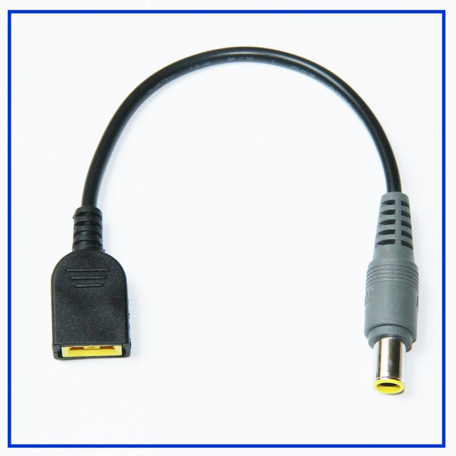 New For Lenovo ThinkPad X1 Carbon 0.23mm DC Power Jack Cable USB DC Transfer Charging adapter Cable