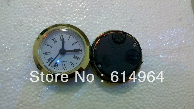 Insert clock  clock head watch movement 50mm clock parts Roma number 5pcs/lot Free shipping,
