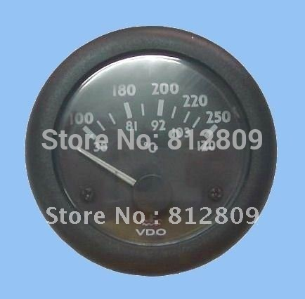 Water temperature gauge 24V(5PCS/LOT) with best quality +free shipping