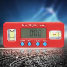 100mm Mini Digital Level Protractor Inclinometer Electronic Angle Finder Measuring Tool Angle Level