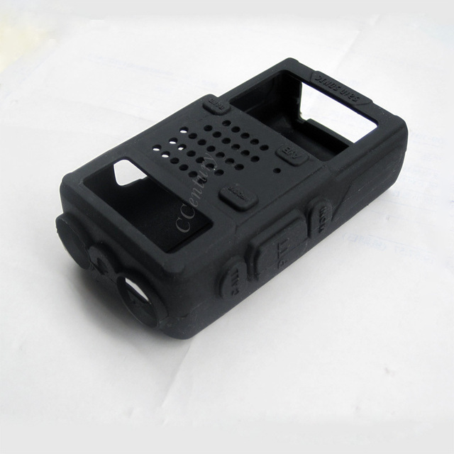 10Pcs Walkie Talkie Rubber Soft Case for BAOFENG Two Way CB Radio UV-5R UV-5RE Plus UV-5RA UV-5S BF-E500S TYT TH-F8 RONSON UV-8R