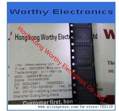 Free   shipping      10PCS/LOT     IL715ETR13     IL715E     IL715     SOP16