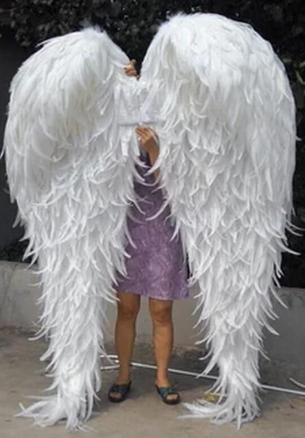 hight quality pure handmade fahsion nice classic lingerie shows stage Feather  angel wings model catwalk shows wedding